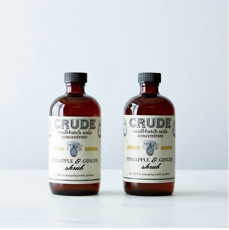 Crude Bitters Pineapple Ginger Shrub -- #HandmadeNC