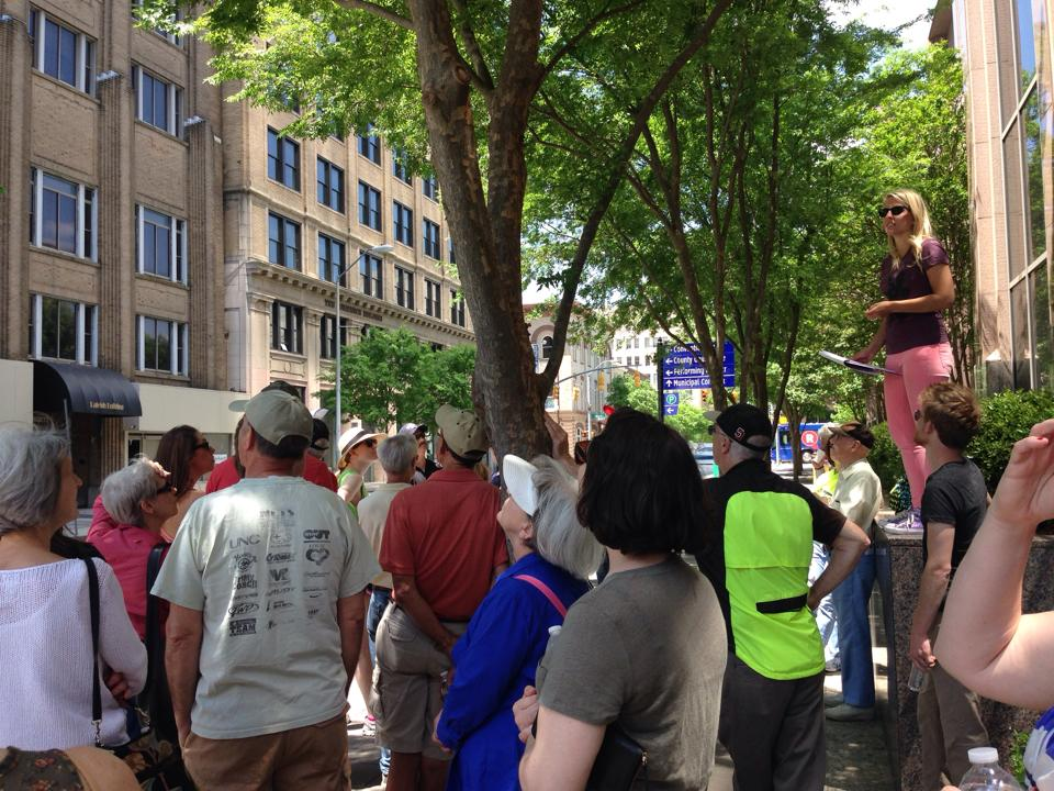 Jane's Walk -- Raleigh 2015